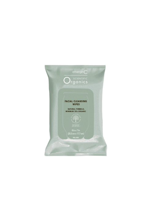 EmerginC Facial Cleansing Wipes