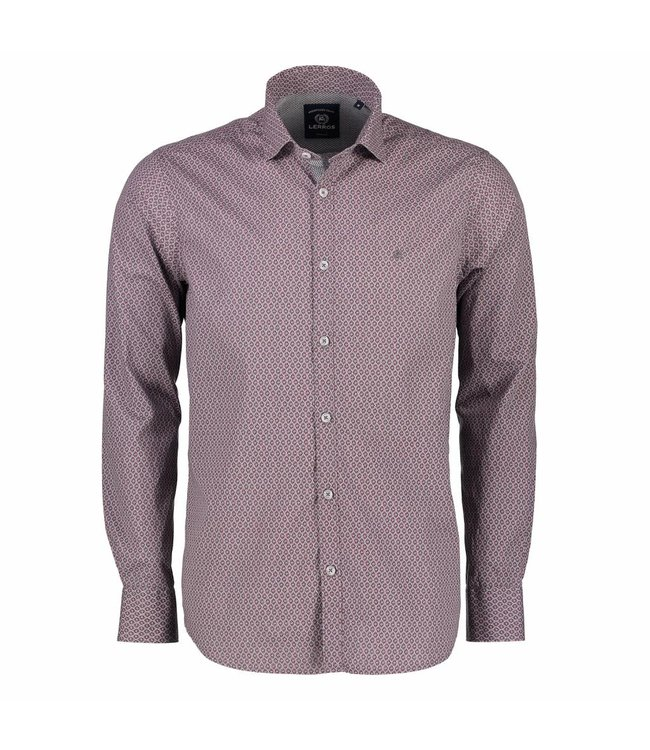 Lerros Shirt with Print - Red