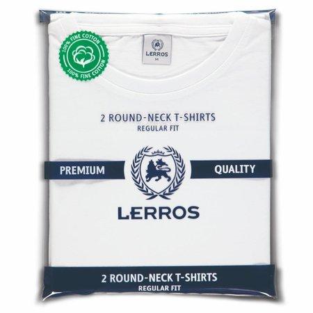 Lerros Lerros T-Shirt Pakket (Ronde Hals) - Wit