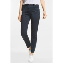 Leichte Tight Fit Hose Janet - Deep Blue