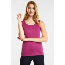 Top met Ronde Hals Gania - Dark Electric Pink