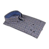 Shirt with Dots - Blue