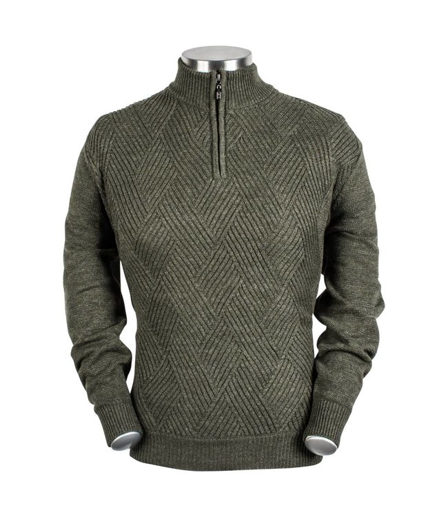Baileys Structured Sweater - Green