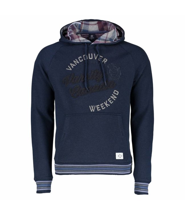 Lerros Hoodie with Applications - Navy