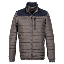 Quilted Jacket - Brown