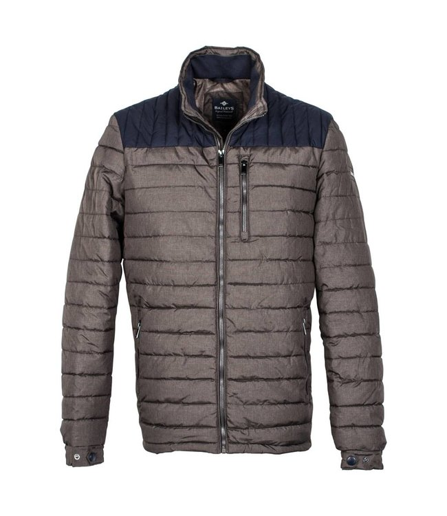 Baileys Quilted Jacket - Brown