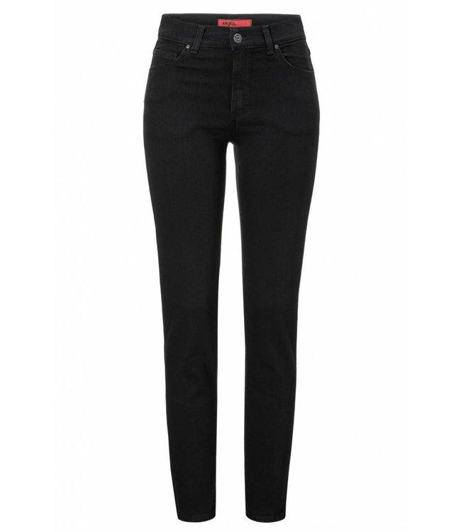 Angels Jeanswear Skinny Jeans - Jet Black