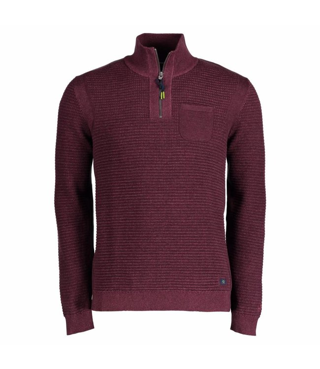 Lerros Troyer with Chest Pocket - Brick Red
