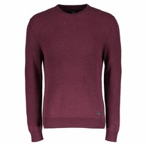Katoenen Pullover - Wine Red