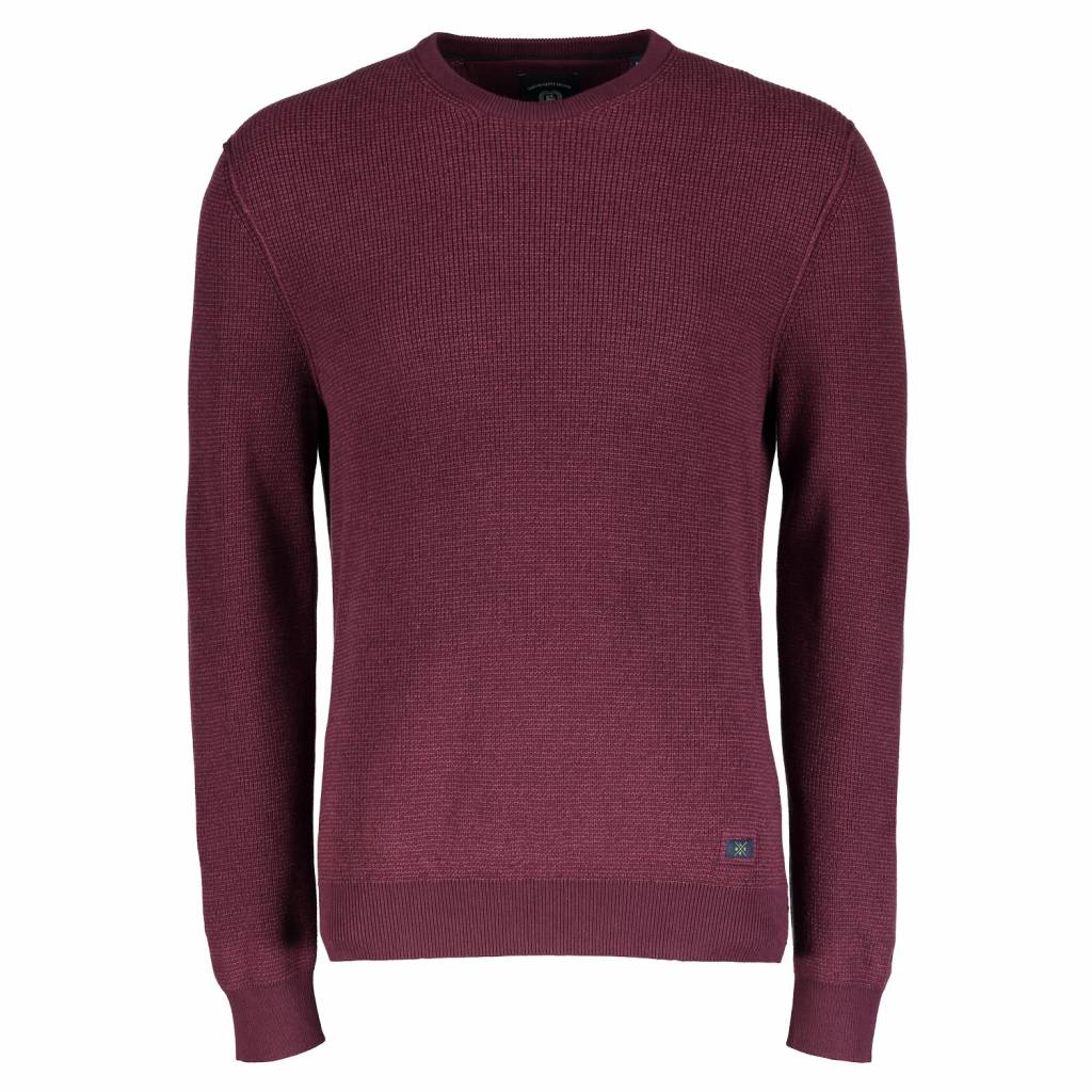 buy popular a29be 5bee6 LERROS Pullover Baumwolle - Wine Red