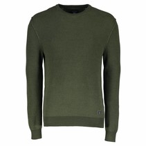 Cotton Pullover - Moss Green