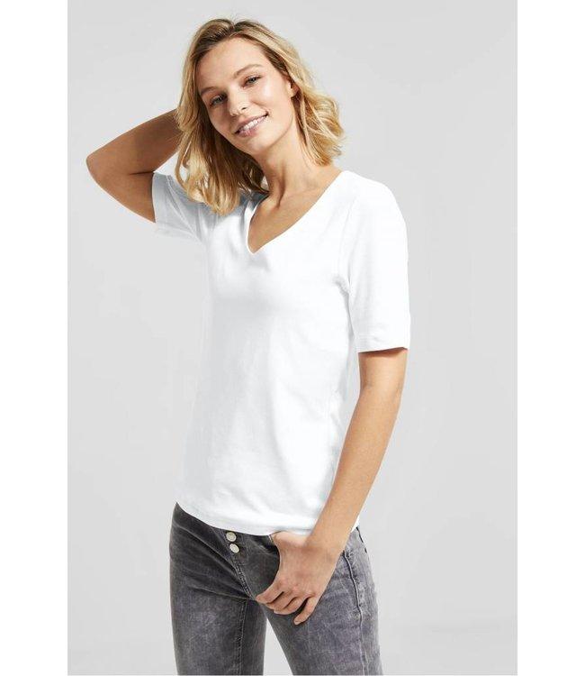 Street One Basic Shirt Palmira - White