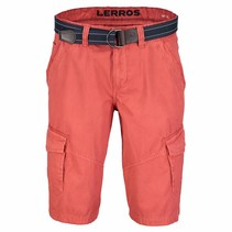Cargo Bermuda - Light Autumn Red