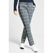 Checkered Sweatpants Fay - Deep Blue