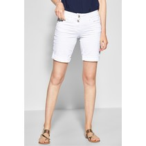 Weiße Shorts Scarlett - White Denim