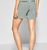 Street One Shorts with Stripes - Deep Blue