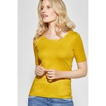 Organic Shirt Lena - Ceylon Yellow