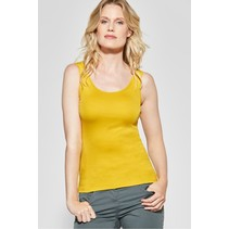 Organic Tanktop Linda - Ceylon Yellow