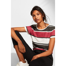 T-Shirt mit Allover-Print - Off White Colourway