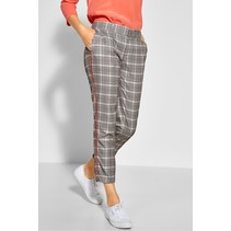 Pants with Glencheck Jacky - Neo Grey