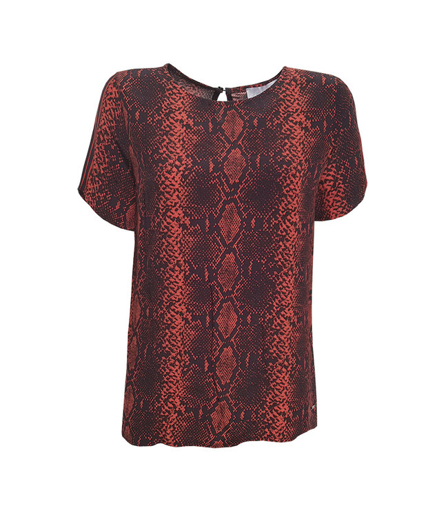 Elvira Collections Top Lieke - Rust Snake