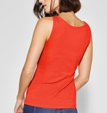Street One Basic Top Anni - Lava Red