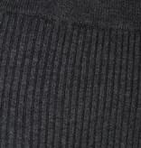 Soyaconcept Lange, Gebreide Rok Dollie 634 - Dark Grey Melange