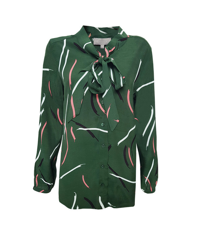 Elvira Collections Bluse Myrthe - Paint Green