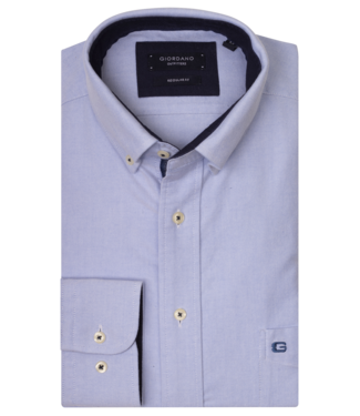 Giordano Overhemd Button-Down - Light Blue