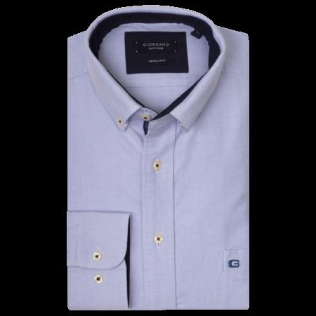 Giordano Overhemd Button-Down - Light Blue