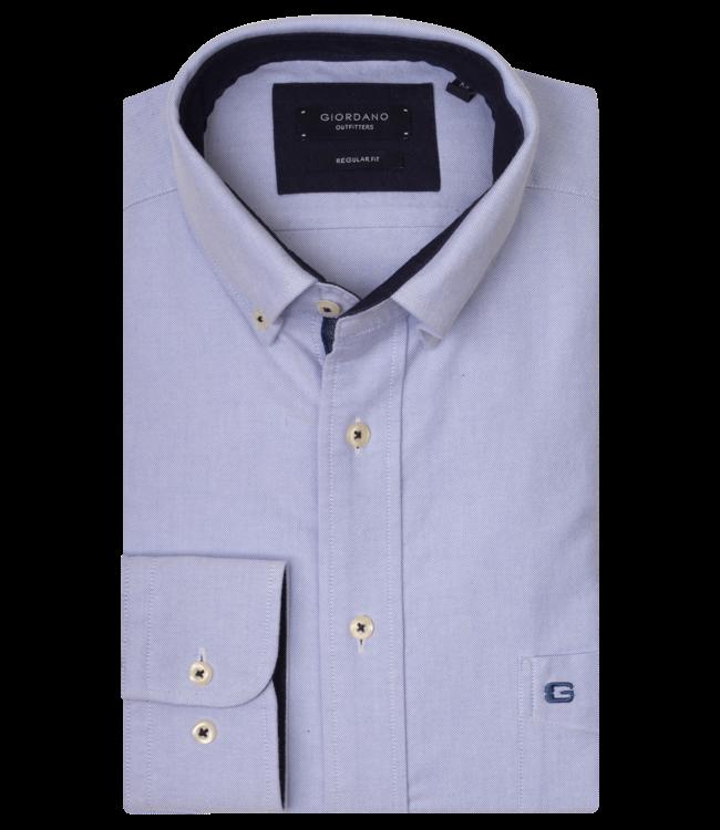 Giordano Hemd Button-Down - Light Blue