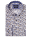Giordano Shirt with Small Flowers - Dark Navy