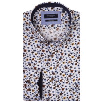 Shirt with Flowers - Yellow