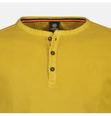 Lerros Lange Mouw Serafino - Chai Tee Yellow