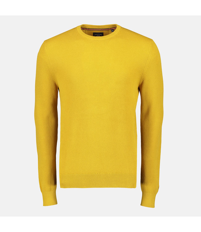 Lerros Structured Sweater - Yellow