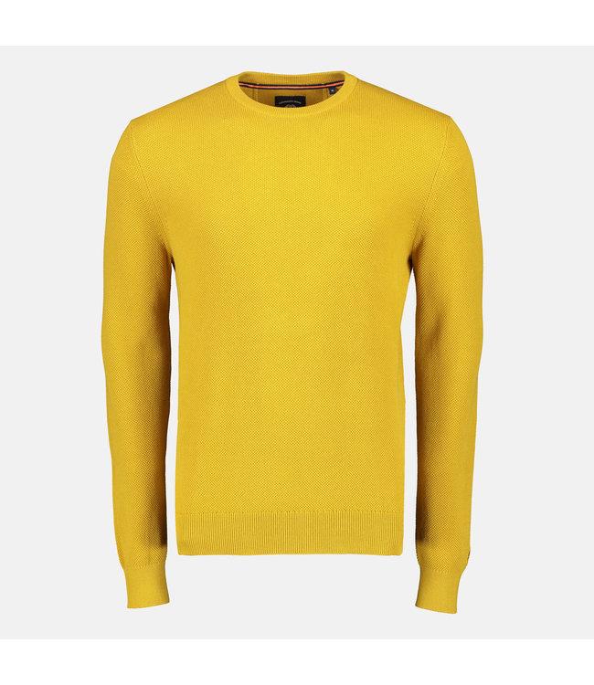 Lerros Structuur Trui - Yellow