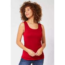 Basic Top Gania - Love Red
