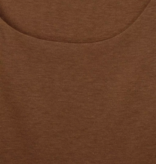 Street One Basic Top Gania - Otter Brown