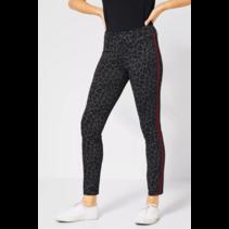 Leopard-Pants York - Black