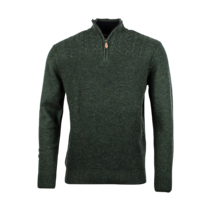 Pullover mit Wolle - Green