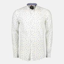 Overhemd Minimal Print - Silver