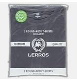 Lerros Doppelpack T-Shirt Rundhals - Rock Grey
