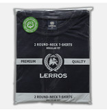 Lerros Doppelpack T-Shirt Rundhals - Night Blue