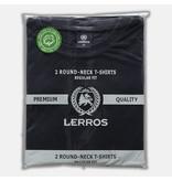 Lerros Two-Pack T-shirts (Round Neckline) - Night Blue