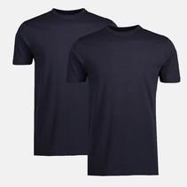 Two-Pack T-shirts (Round Neckline) - Night Blue