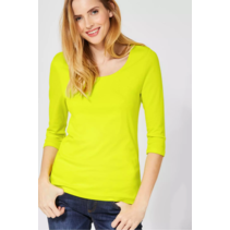 Basic Shirt Pania - Lime