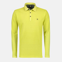 Langarm Piqué Poloshirt - Wild Lime
