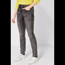 Slim Fit Jeans Toronto - Grey Used Wash