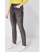 Cecil Slim Fit Jeans Toronto - Grey Used Wash