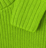 Street One Knitted Sweater in Striking Color - Flash Lime